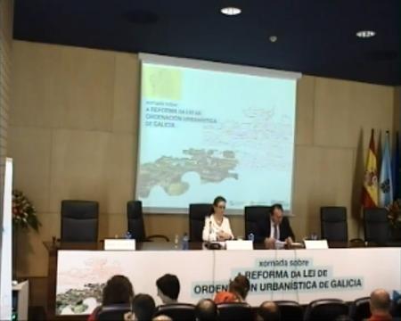 Edición de Vigo - María Encarnación Rivas Díaz, secretaria Xeral de Ordenación do Territorio e Urbanismo - Novas Xornadas sobre A Reforma da Lei de Ordenación Urbanística de Galicia
